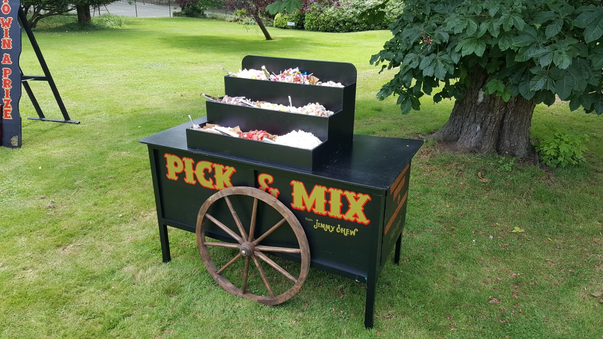 Pick and Mix Cart Hire Sweet Stall