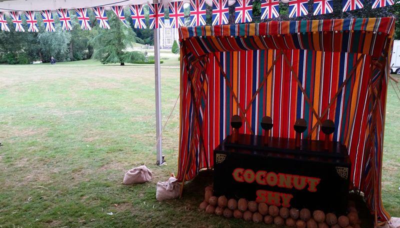vintage coconut shy