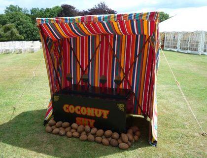 Vintage Fete Coconut Shy